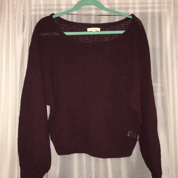 La Hearts Sweaters - Chenille sweater abae8b8e0